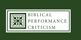 BiblicalPerformanceCriticismLogo